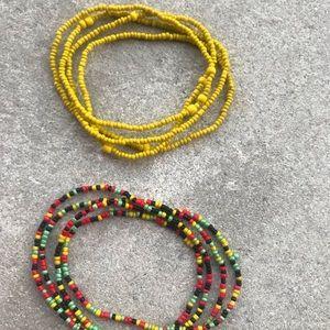 "Plus Size Waist Beads - 30"" to 32"" - L/XL"